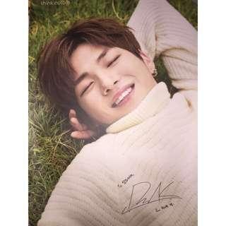 Wanna One Daniel Think Nature 海報 -草地款