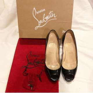 Christian Louboutin Very Prive 120 Black Heels