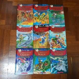 Geronimo Stilton - Kingdom of Fantasy - Hardcover Series