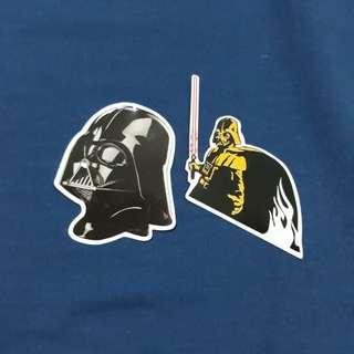 Darth Vader Sticker Set