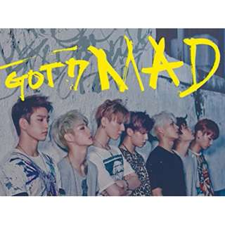 Got7 MAD album horizontal/vertical random ver
