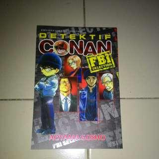 Komik Detektif Conan vs Black Organization