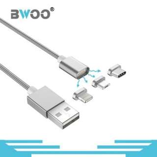 3 IN 1 DATA CHARGING CABLE FOR ANDROID AND IPOHNE