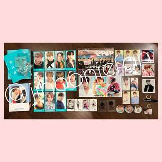 WANNAONE Membership Kit + TO BE ONE Album + Park Jihoon Light Keyring + many more!