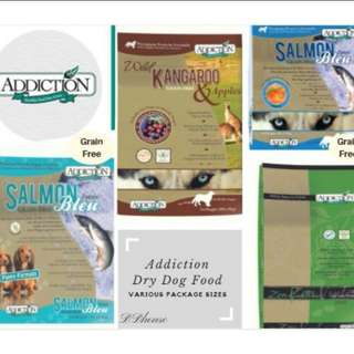Up to 30% OFF Launch Promotion Addiction Dry Dog Food Grain Free Group Buy Multiple Flavor and Package Sizes