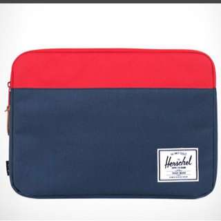 Herschel Supply Co. Anchor Red/Navy Ipad Sleeve Case