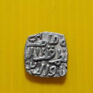 DELHI SULTAN - 1 Jital - Qutb-ud-Din Mubarak Shah 720 (1320) - bi07 - Beautiful vintage Billion Coin Medieval Islamic Persian ( 600 - 1000 Years old ) DELHI SULTAN  india