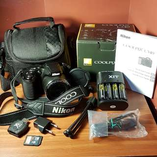 Nikon Coolpix L340 with Complete Accessories