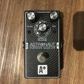A+ Astronaut Reverb Pedal