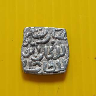 DELHI SULTAN - 1 Jital - Qutb-ud-Din Mubarak Shah 720 (1320) - bi08 - Beautiful vintage Billion Coin Medieval Islamic Persian ( 600 - 1000 Years old ) DELHI SULTAN  india