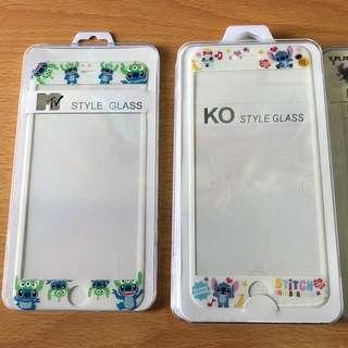 清貨!!!I phone 6s plus/7 plus史迪仔保護貼