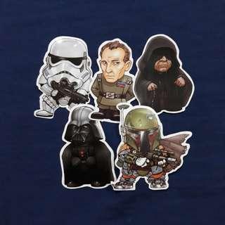 Chibi Imperial Squad - Star Wars Sticker Bundle