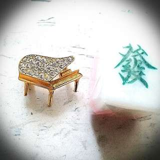 Piano pin Instrument 鋼琴樂器襟針