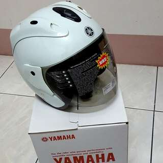 Yamaha4分之3全全罩式安全帽