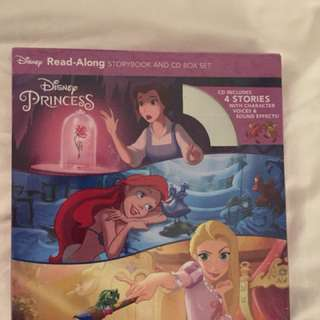 Disney princess read along