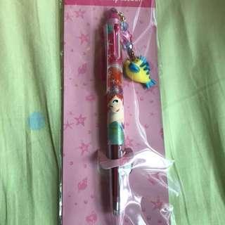 日本迪士尼美人魚多色原子筆