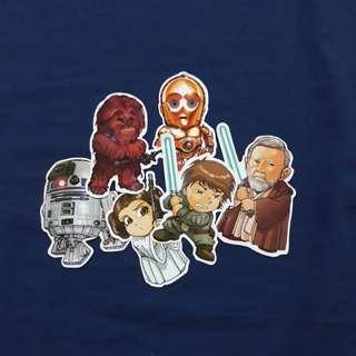 Chibi Rebels Squad - Star Wars Sticker Bundle