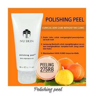 Polishing peel nuskin