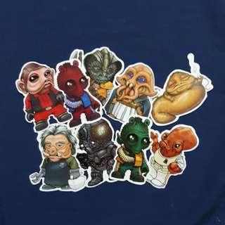 Star Wars Aliens - Sticker Bundle