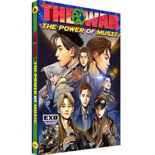Exo The War Repackage:the power of music album