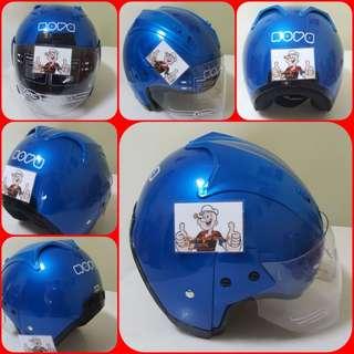1102*** NOVA Blue Helmet For Sale 😁😁Thanks To All My Buyer Support 🐇🐇 Yamaha, Honda, Suzuki