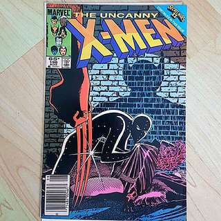Marvel Comics Uncanny X-Men 196 Very Fine Condition Newsstand Edition