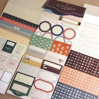 Iconic Labeling pack, 8 sheets