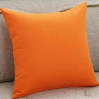 Sarung bantal orange