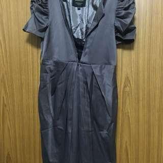 Office Dress - Gray