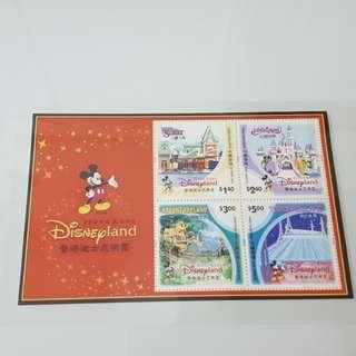 2003年香港迪士尼樂園小全張