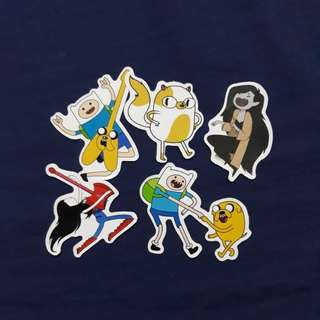 SET A - Adventure Time Sticker Set