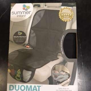 Duomat car seat protection