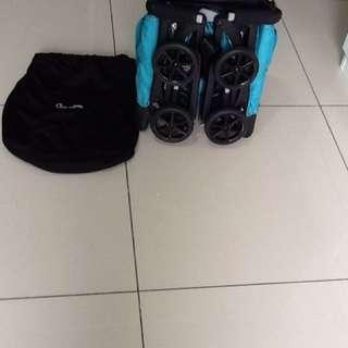 Geoby recline pockit stroller