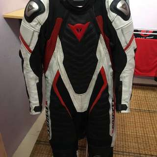 Original leather Racing Suit Dainese Aero Evo C2 custom fullsuit