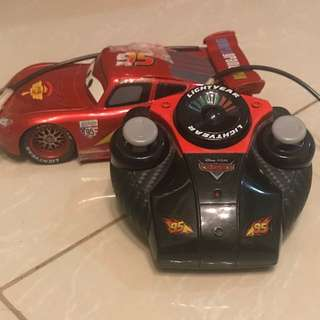 Lightning Mcqueen w/ remote control