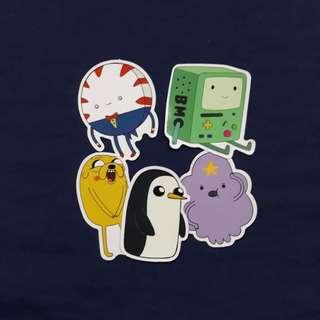 SET C - Adventure Time Sticker Set