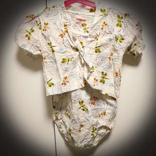 Japanese style babies jumper