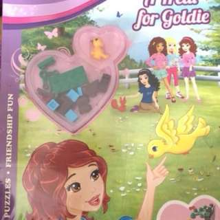 LEGO friends book (7 copies available)