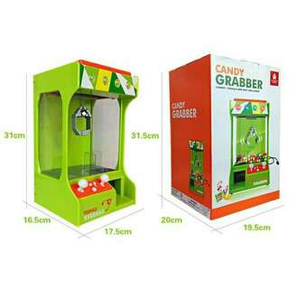 Mini USB Candy Grabber Claw Toy Machine