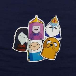 SET D - Adventure Time Sticker Set