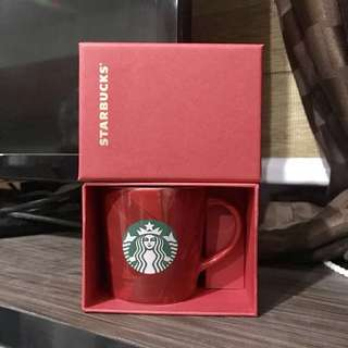 Starbucks Boxed Demi - Red