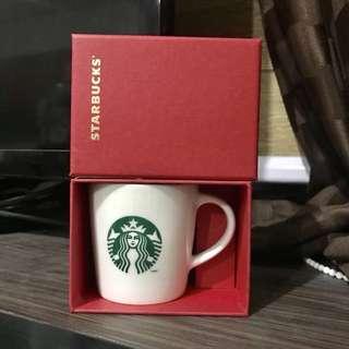 Starbucks Boxed Demi Mug - White
