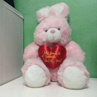 Blue Magic Pink Teddy Bear