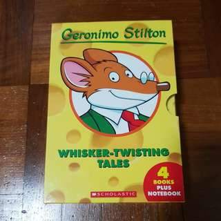 Geronimo Stilton - The First 4 Books