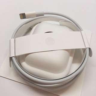 全新 跟機 Apple AirPods Lightning cable 數據線