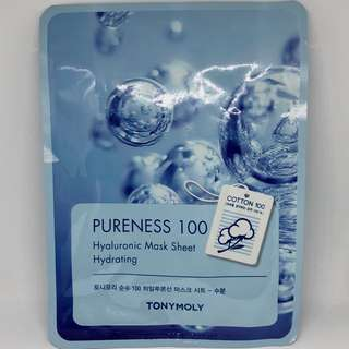 New Authentic Tony Moly Hyaluronic Mask Sheet Hydrating