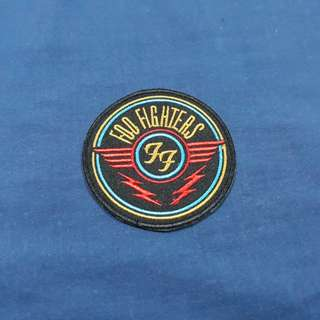 Foo Fighters Iron On Patch