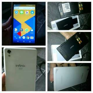 Hp android Infinix hot X510 putih