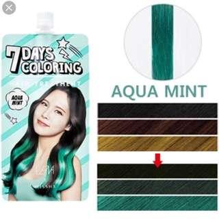 MISSHA 7 Days Colouring Hair Treatment in Aqua Mint