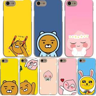 [FREE DELIVERY] (iPhone & Samsung) Kakao Talk phone cases